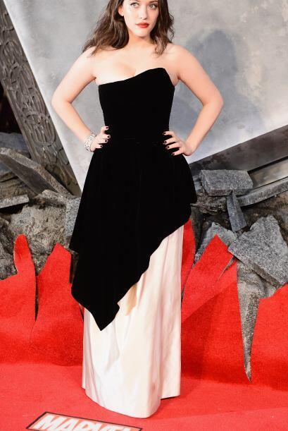 Kat Dennings, quien interpreta a Darcy Lewis en la película dirig...