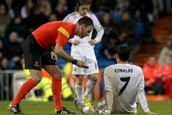 Faltaba la ota negativa para el Madrid y se presentó cuando Cristiano se...