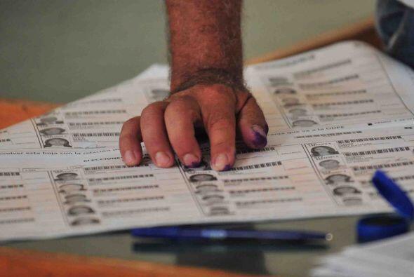 """""""No tenemos ningún reporte negativo"""", dijo tras el comienzo de la votaci..."""