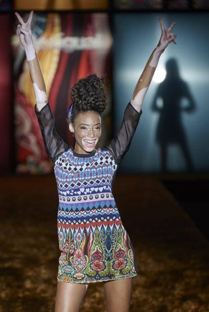 Recientemente se presentó en el Fashion Week de Nueva York, donde modeló...