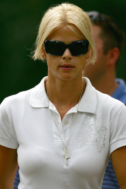 Antes de casarse con Tiger Woods, la sueca Elin Nordegren fue modelo. Se...