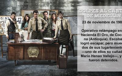 Descubre los Golpes al Cartel de Medellín