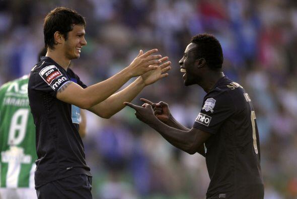 El jugador del Porto lució en el duelo contra el Río Ave.