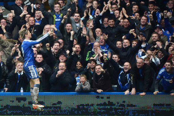 El 'Niño' completaba su 'hat-trick' y todo Stamford Bridge se entregaba...