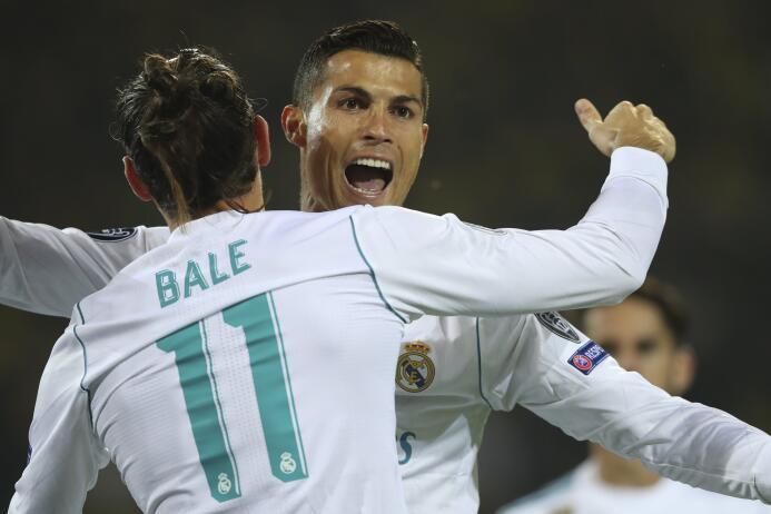 Con doblete de CR7, Real Madrid sacó un gran triunfo en casa del Dortmun...