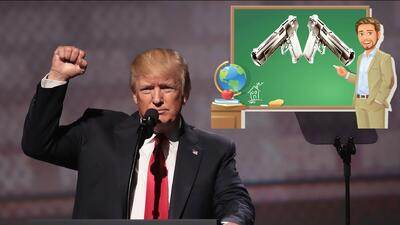 Donald Trump propone armar a maestros para evitar más masacres