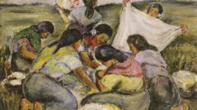 Pintura por Eduardo Abela