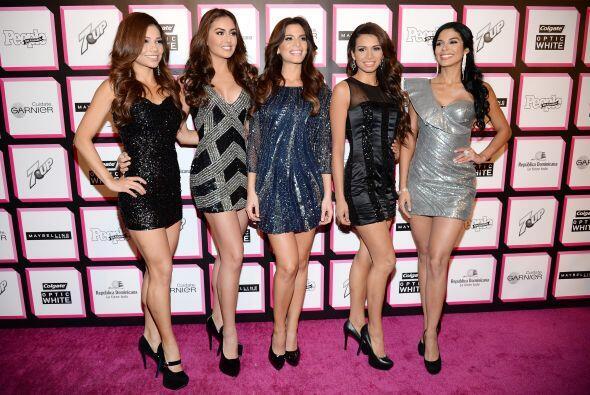 ¡Claro!, no podían ser otras que las finalistas de Nuestra Belleza Latin...