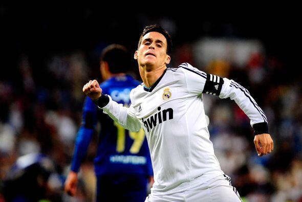 Callejón sumó un gol más y Karim Benzema concluyó la aplastante victoria...