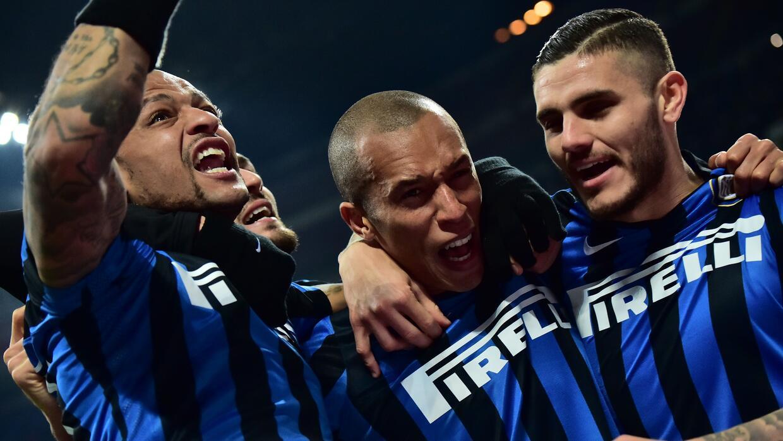 El Inter goleó a la Sampdoria