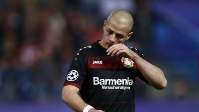 'Chicharito' volvió a la titularidad pero el Bayer Leverkusen perdió con Freiburg