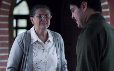 El Chapo con su mamá