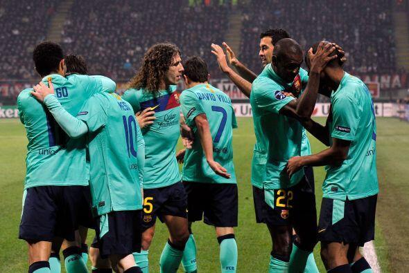 Barcelona volvía a estar al frente.