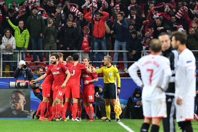 Spartak Moscú 5-1 Sevilla: durísima goleada del equipo ruso que dejó a l...