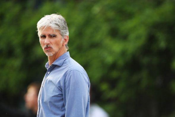El legendario Damon Hill hizo una aparición en Shanghai.