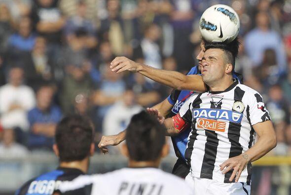 El otro equopo que está en la punta, el Udinese, enfrentó al Atalanta.