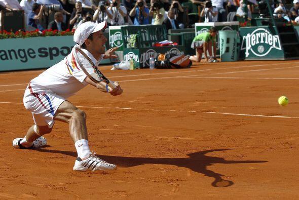 Primer semifinalista: El serbio Novak Djokovic quien en esta décima jorn...