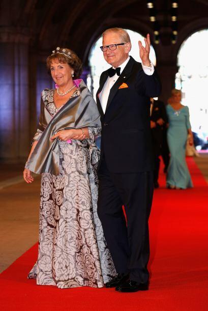 La princesa Margarita de los Países Bajos las porta con gran 'glamour'....