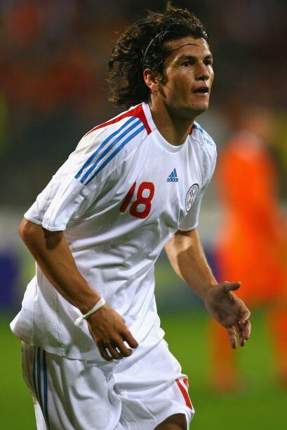 Haedo Valdez tuvo una gran actuación en la selección paraguaya que dispu...