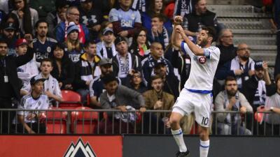 Nacho Piatti fue el jugador del partido en Vancouver.