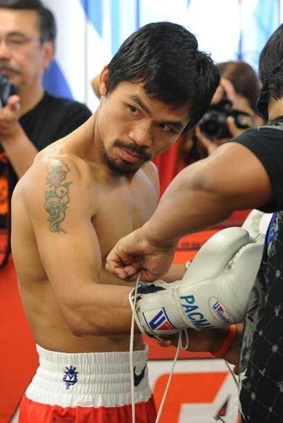 Manny Pacquiao aseguró estar más que preparado para enfrentar a Miguel C...