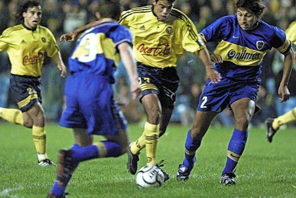 En aquella semifinal se enfrentó a Boca Juniors, en el juego de ida perd...