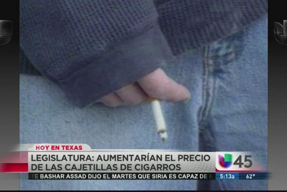 Fumadores, preparen el bolsillo, pues una propuesta de ley busca aumenta...