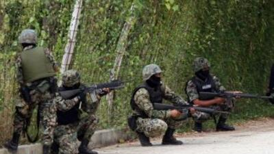Militares mexicanos (Imagen de archivo)
