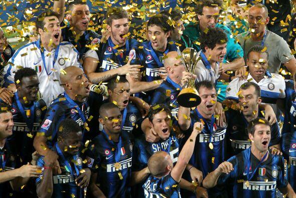 Fiesta total para el equipo italiano que terminó el año con 5 títulos.