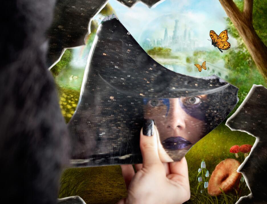 ¡Transpórtate a otro mundo mediante el espejo!