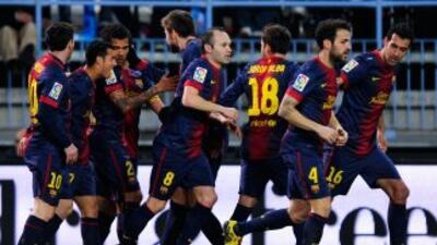 En un partido tan complicado como el duelo de ida, el Barcelona puso la...