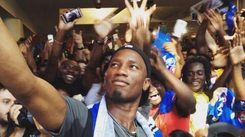 Didier Drogba no asiste al entrenamiento de Montreal por un dolor en la...