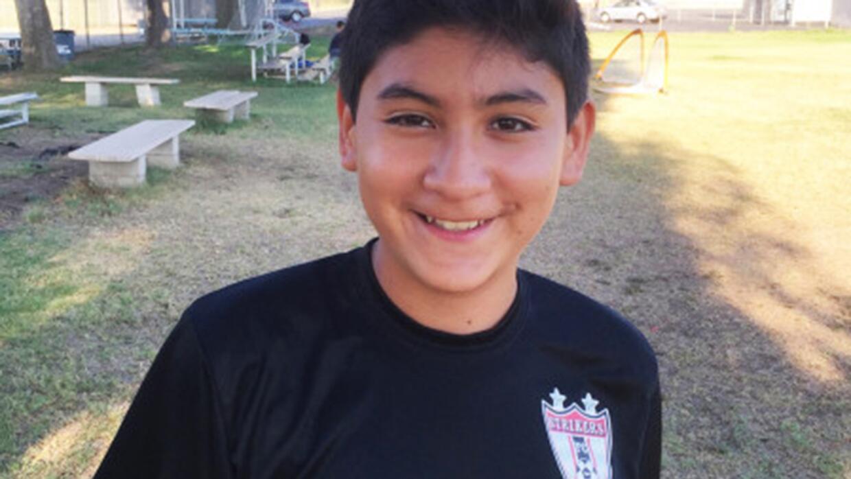 Felipe Andrés de la Cruz falleció cuando practicaba fútbol en Westminste...