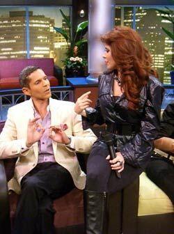Gloria quiso que Rodner le dijera en su propia cara cómo estaba su atuendo.