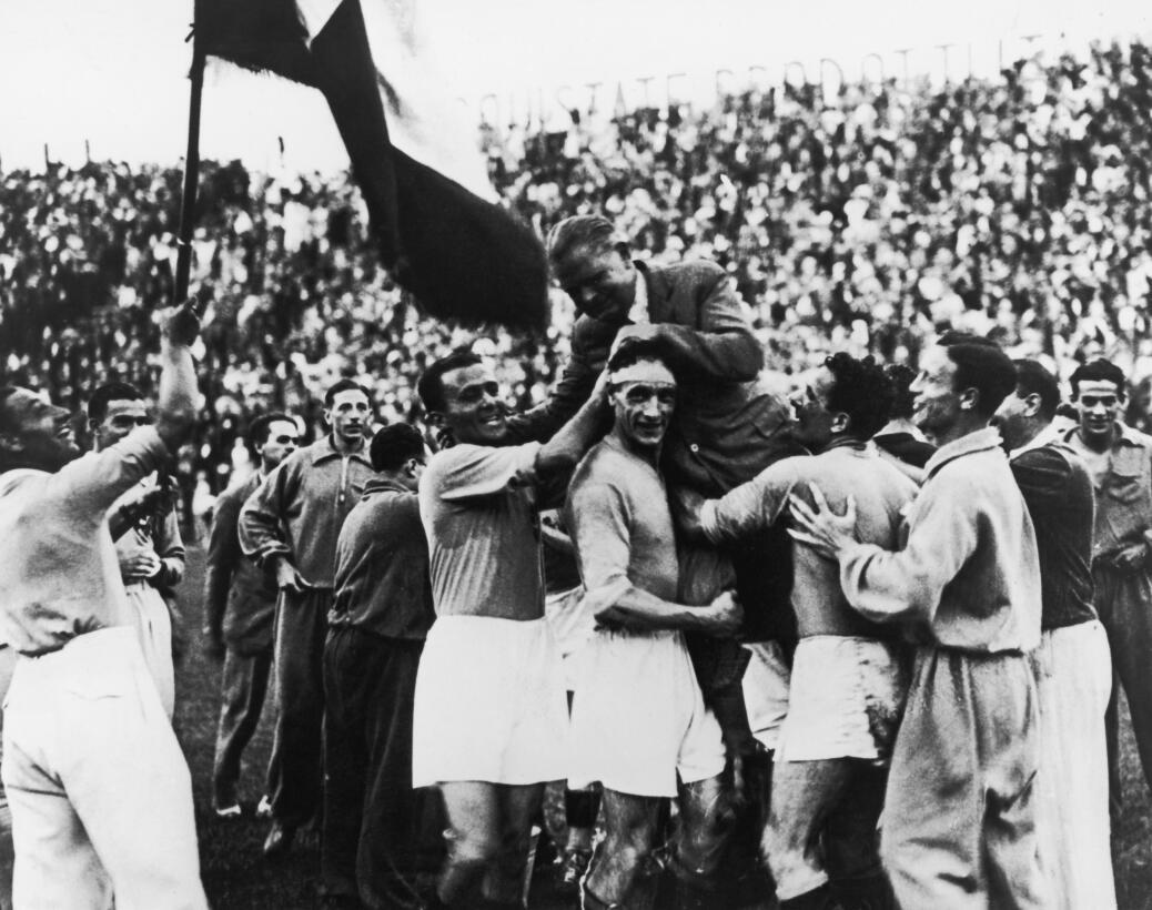 Historias del Mundial: cuando el fascismo impuso a su campeón  gettyimag...