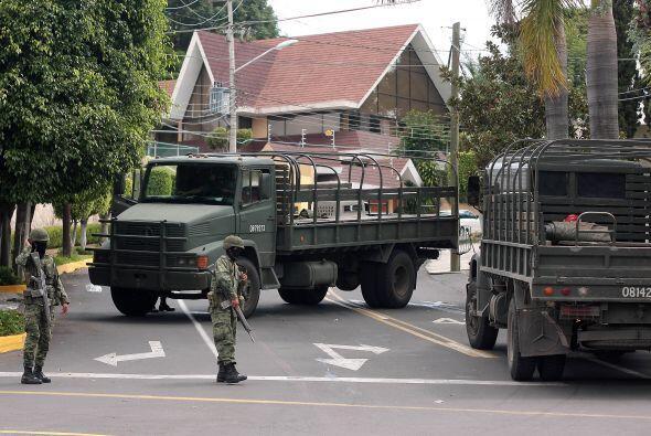 La zona donde fue detenido Beltrán Coronel fue la misma donde fue...