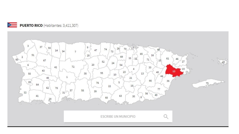 puerto rico mapa naguabo