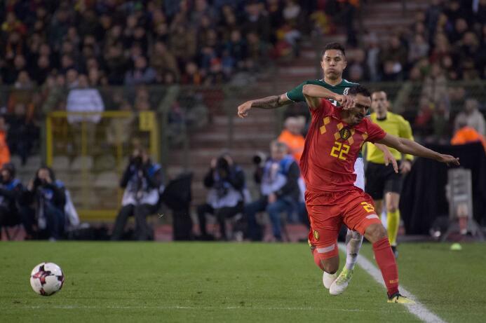 Así jugaron uno a uno los 'Diablos Rojos' de Bélgica contra México 20171...
