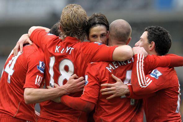 El Liverpool logró su primer triunfo desde la llegada de su nuevo técnic...
