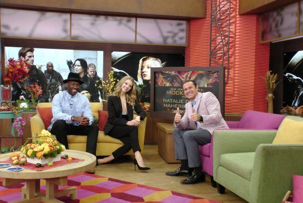 Además, los actores de 'The Hunger Games: Mockingjay, Part 1', Natalie D...