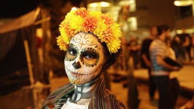 Maquillaje para el Día de Muertos
