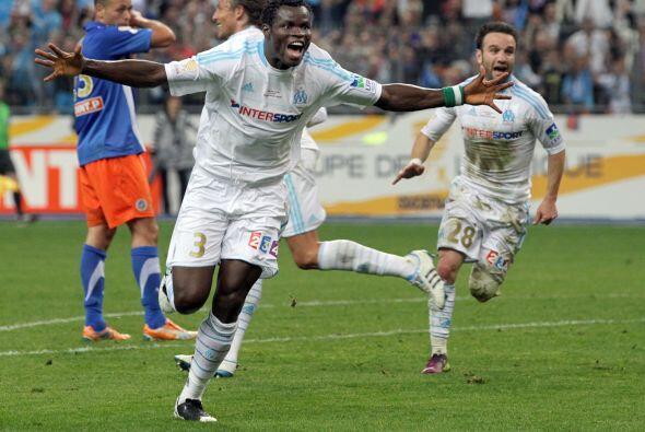 El central del Olympique de Marsella fue la figura en la Final de la Cop...