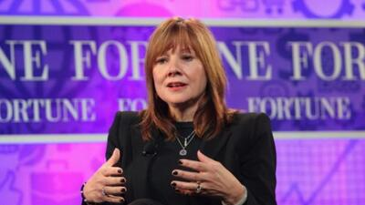 Mary Barra será la primer CEO de la industria automotriz.
