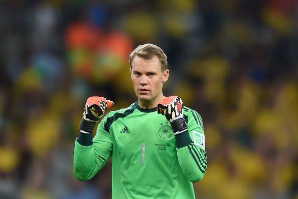En Brasil 2014 ha recibido sólo 4 goles y salvadas que evitaron caer el...