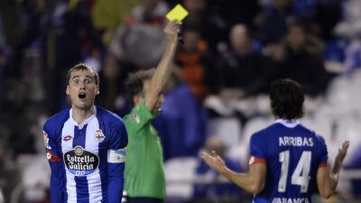 Deportivo de la Coruña cayó ante el Mirandés