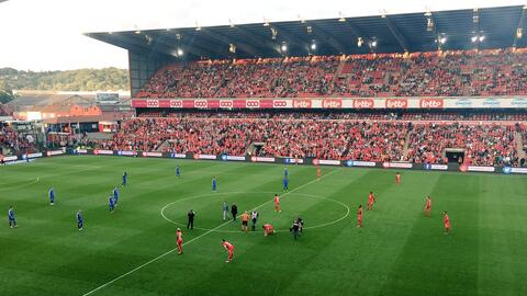El cuadro belga sumó sus primeros tres puntos como local al vence...
