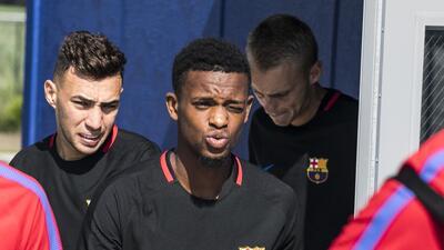 Nélson Semedo: ¿quién es el jugador que peleó con Neymar en un entrenamiento de Barcelona?
