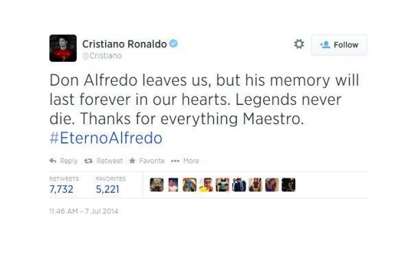 La FIFA, los clubes, futbolistas y entrenadores lamentaron la muerte del...