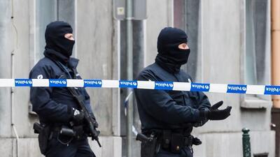 Operativo policial en Molenbeek