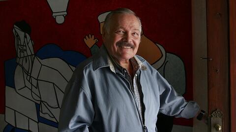 José Luis Cuevas, uno de los grandes exponentes de la pintura de...